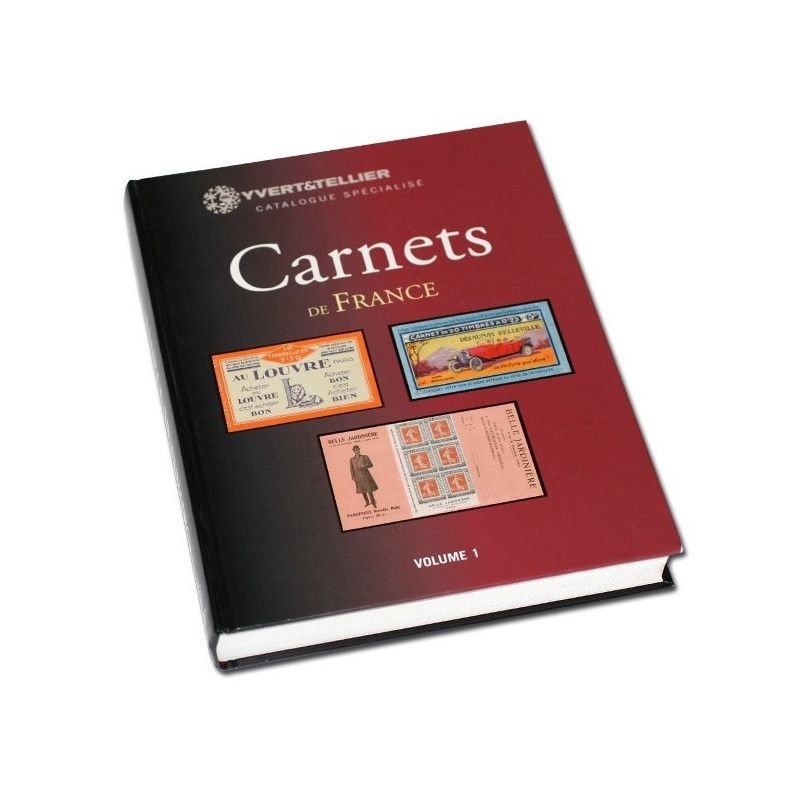 Catalogue encyclopédique de carnets de France volume 1. (1906 à 1926)