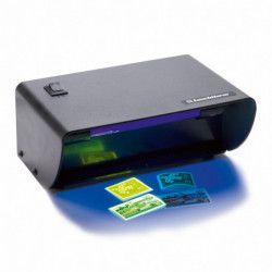 Lampe UV de bureau pour contrôler timbres, billets.