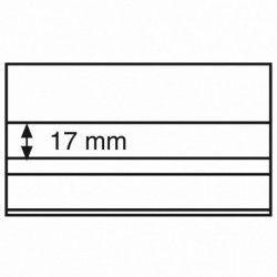 Cartes de classement à 2 bandes pour timbres, 148 x 85 mm.