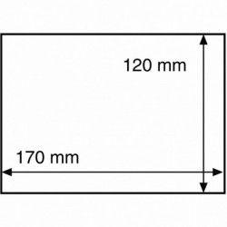 Pochettes de protection pour enveloppes, 170 x 120 mm.