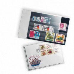 Pochettes de protection pour cartes de classement format A5.
