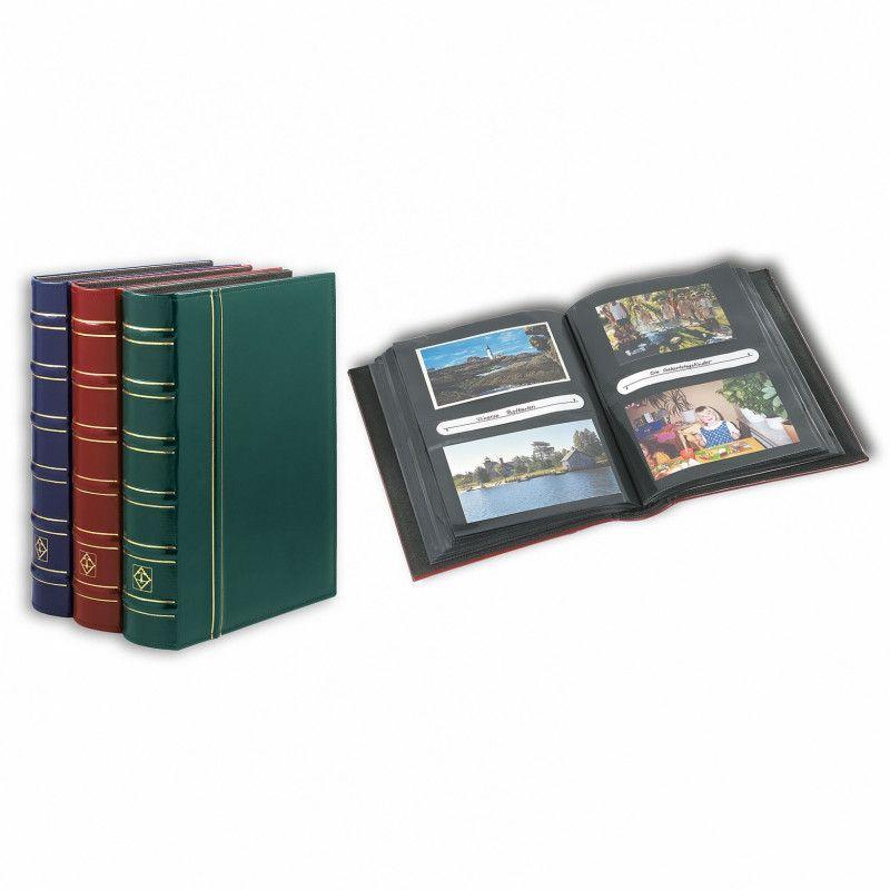Album lux pour ranger 200 cartes postales, photos, lettres.