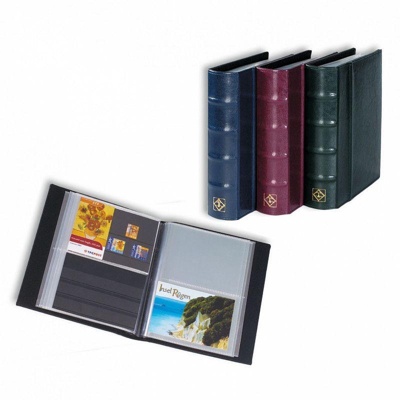 Album classic pour cartes postales, cartes de classement.