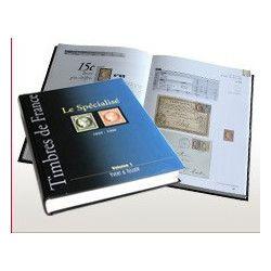 Catalogue Yvert et Tellier timbres de France spécialisé de 1849 à 1900.