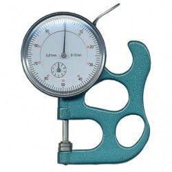 Micromètre Safe pour mesurer l'épaisseur de papier ou plastique.