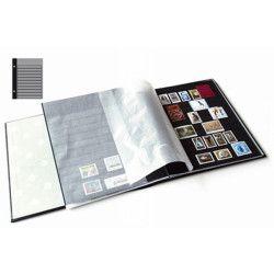 Recharges Futura Yvert à 11 bandes noires pour timbres-poste. (C90)