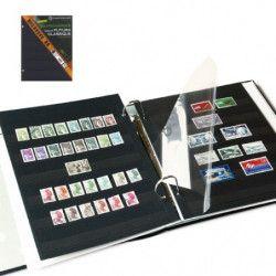 Eco-recharges Futura Yvert à 6 bandes pour timbres-poste.