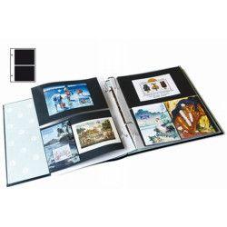 Recharges Futura Yvert à 2 poches pour blocs, cartes, enveloppes. (E2)