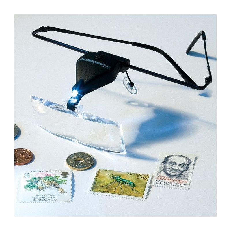 Loupe lunettes VISIR lumineuse LED.