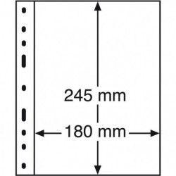 Recharges transparentes Optima à 1 compartiment pour blocs-feuillets.