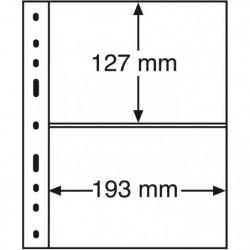 Recharges noires Optima XL à 2 bandes pour enveloppes, lettres.