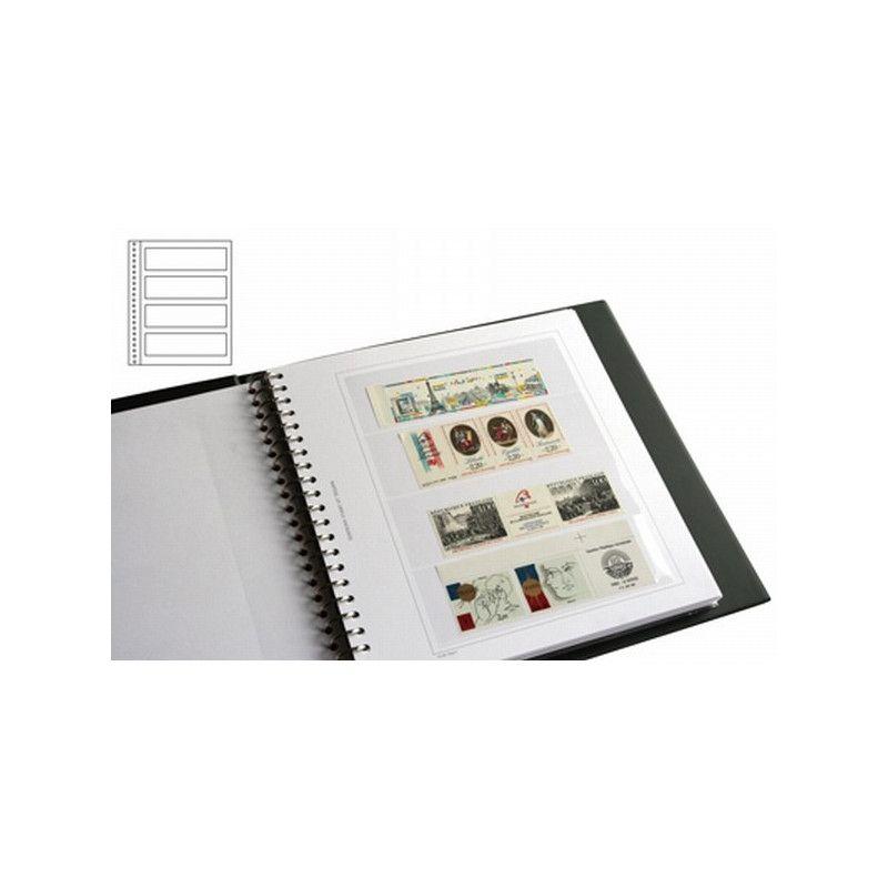 Recharges Régent-Supra Yvert à 4 bandes pour timbres-poste.