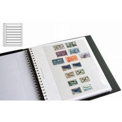 Recharges Régent-Supra Yvert à 7 bandes pour timbres-poste.