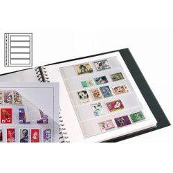 Recharges neutres Duo-Supra Yvert à 5 bandes pour timbres-poste.