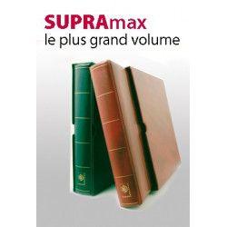 Album Supramax Yvert et Tellier à 8 anneaux avec étui de protection.
