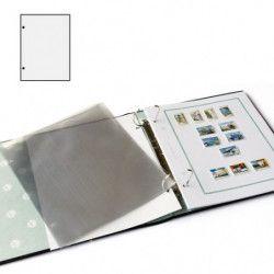 Gaines transparentes spéciales exposition, Yvert et Tellier.