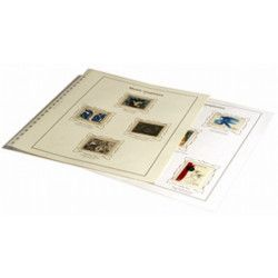 Intérieur SC France Musée Imaginaire 1961-1977 avec pochettes.
