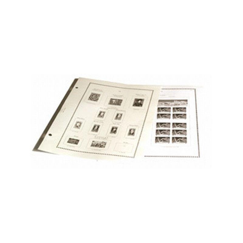 Intérieur FS timbres de France 1969-2003 - Yvert et Tellier.