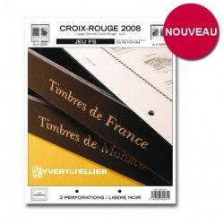 Jeux FS France carnets Croix-Rouge 2007-2008 sans pochettes.