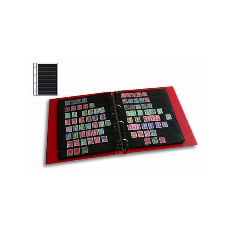 Recharges Initia à 8 bandes pour timbres-poste.