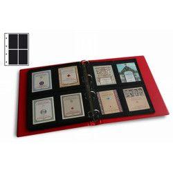 Recharges Initia à 4 poches pour carnets, blocs de timbres.
