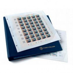 Reliure InitiaMax Yvert pour feuilles entières de timbres-poste.