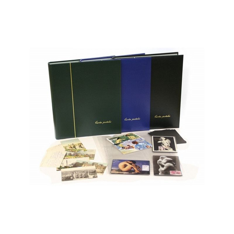 Album Yvert garni pour ranger 150 cartes postales.