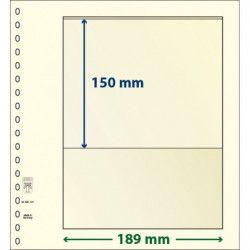 Feuille neutre Lindner-T à 1 bande. (802 101)