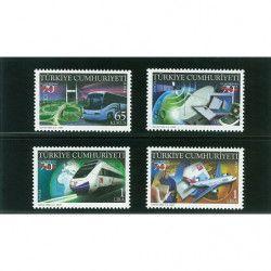 Cartes de rangement noires Omnia à 2 bandes pour timbres-poste.