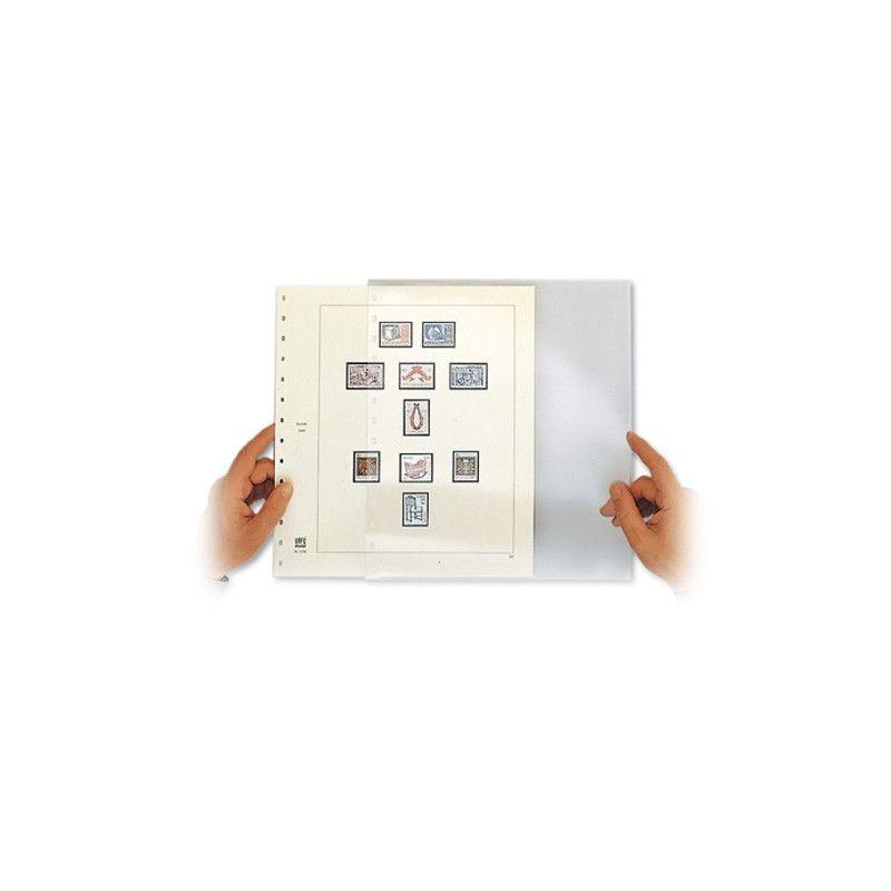 Page-enveloppe Safe pour exposition.
