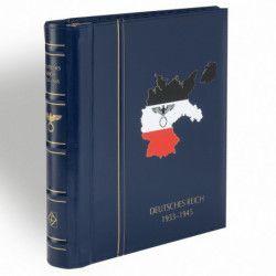 Reliure Leuchtturm à barre rotative gravée Deutsches Reich 1933-1945.