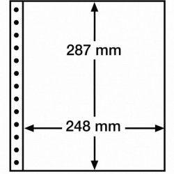 Feuille R Leuchtturm à 1 bande pour reliures à anneaux.