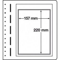 Feuilles neutres LB Leuchtturm à 1 compartiment pour ETB.