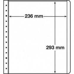 Feuilles neutres LB Leuchtturm à 1 compartiment 236 x 293 mm.