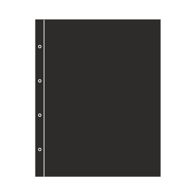 Intercalaires noirs pour album Folio Leuchtturm.