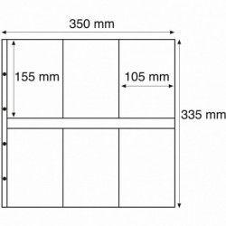 Recharges Maximum transparentes pour cartes postales modernes verticales.
