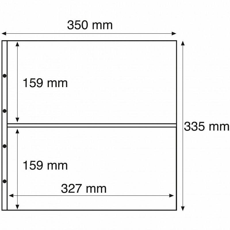 Recharges Maximum transparentes à 2 compartiments.