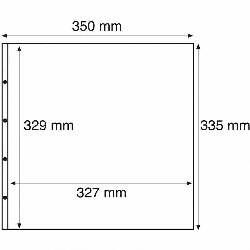 Recharges transparentes Maximum à 1 compartiment.