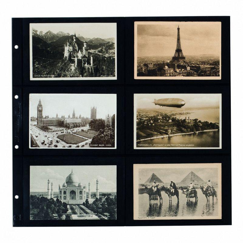 Recharges Maximum noires pour cartes postales modernes horizontales.