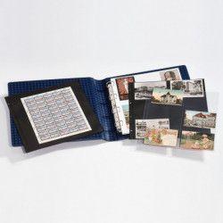 Album Maximum Leuchtturm pour cartes postales, feuillet de timbres.