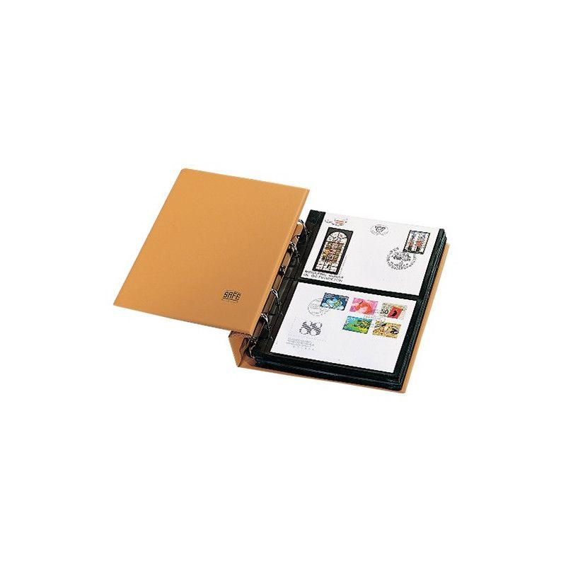 Album Compact Safe pour 60 enveloppes, cartes.