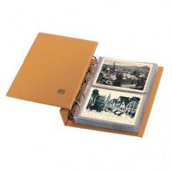 Album Compact Safe pour 80 cartes postales anciennes.
