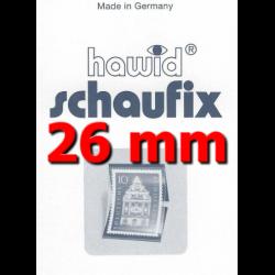 Bandes Hawid Schaufix double soudure 210 x 26 mm pour timbres-poste.