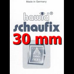 Bandes Hawid Schaufix double soudure 210 x 30 mm pour timbres-poste.