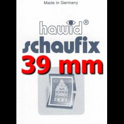 Bandes Hawid Schaufix double soudure 210 x 39 mm pour timbres-poste.