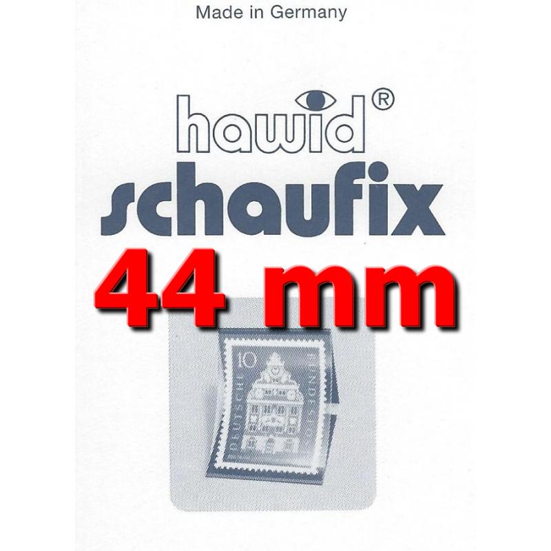 Bandes Hawid Schaufix double soudure 210 x 44 mm pour timbres-poste.