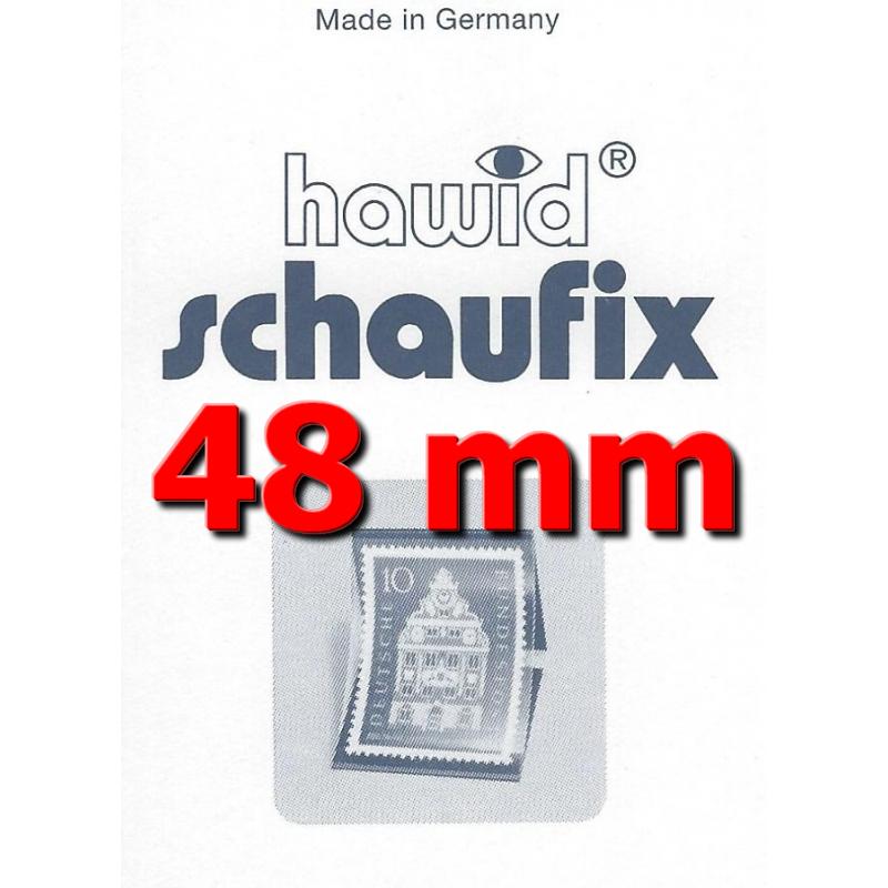 Bandes Hawid Schaufix double soudure 210 x 48 mm pour timbres-poste.
