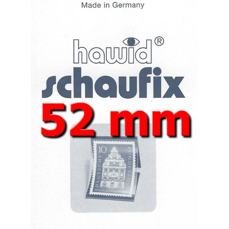 Bandes Hawid Schaufix double soudure 210 x 52 mm pour timbres-poste.