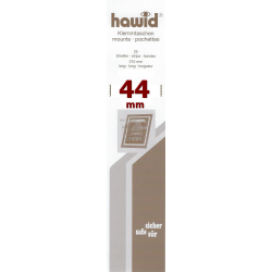 Bandes Hawid simple soudure 210 x 44 mm pour timbres-poste.