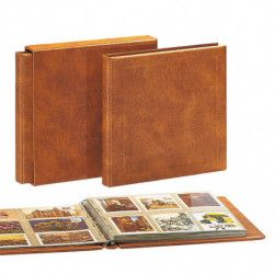 Reliure luxe Safe pour cartes postales, documents.
